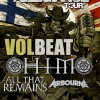 Rock Allegiance Tour to Feature Volbeat, HIM, All That Remains + Airbourne