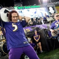 The Baltimore Ravens Marching Band Plays Van Halen
