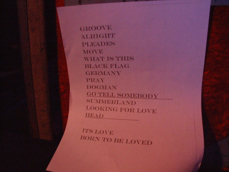 King's X Set List