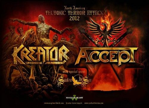 Kreator & Accept - Teutonic Terror Attack