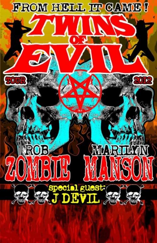 Twins Of Evil 2012 Tour
