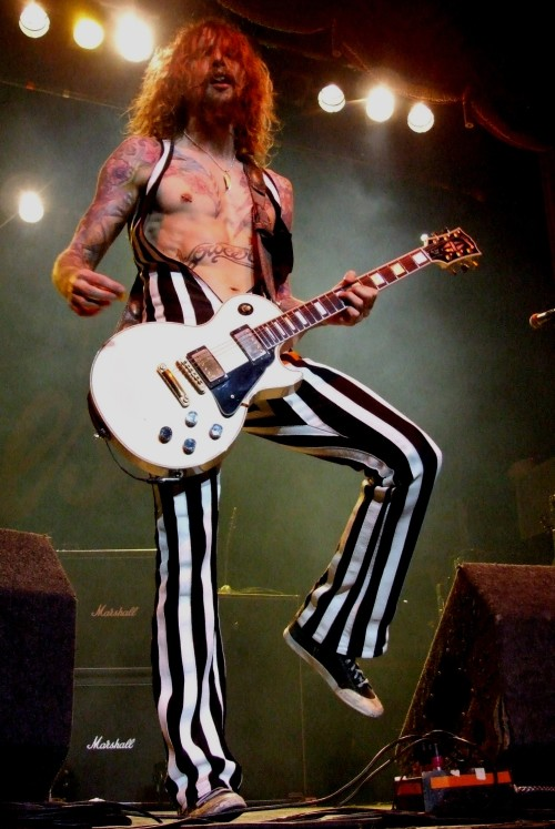 Justin Hawkins of The Darkenss