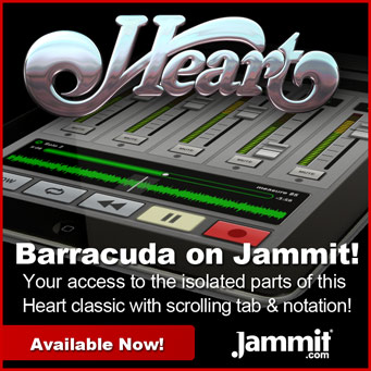 Heart Barracuda Jammit