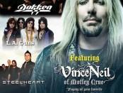 Vince Neil Dokken Steelheart LA Guns