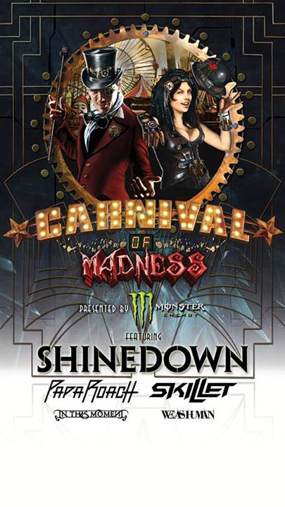 Carnival of Madness Tour