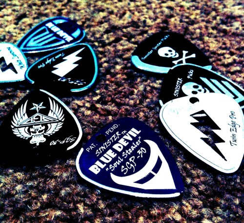 Sinister Guitar Picks 2013