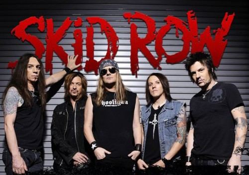 Skid Row band 2013