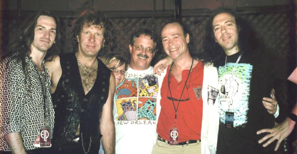 Gordon with Keith
