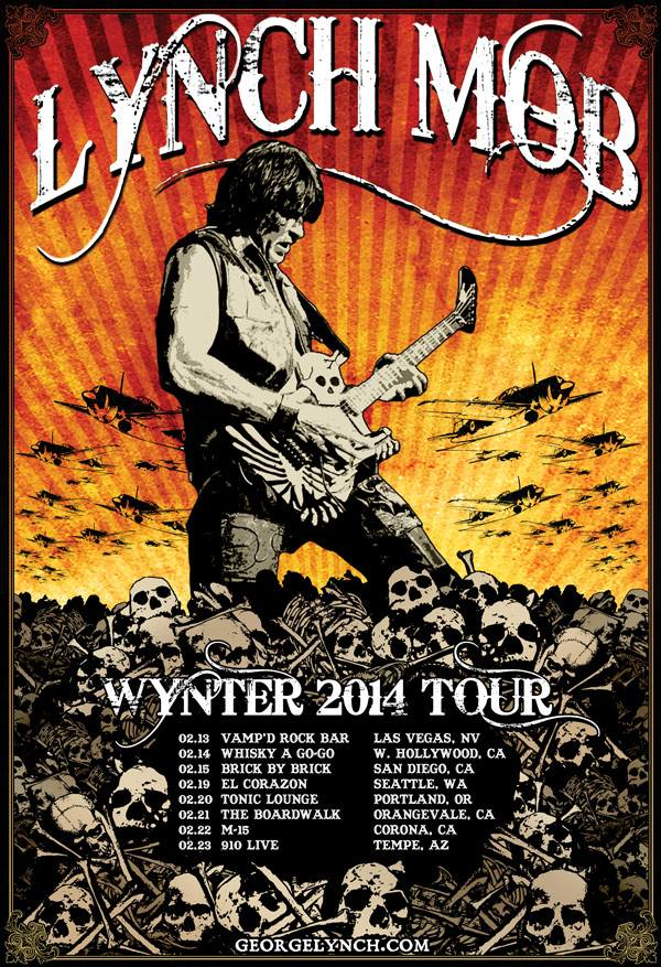 Lynch Mob Wynter 2014Tour