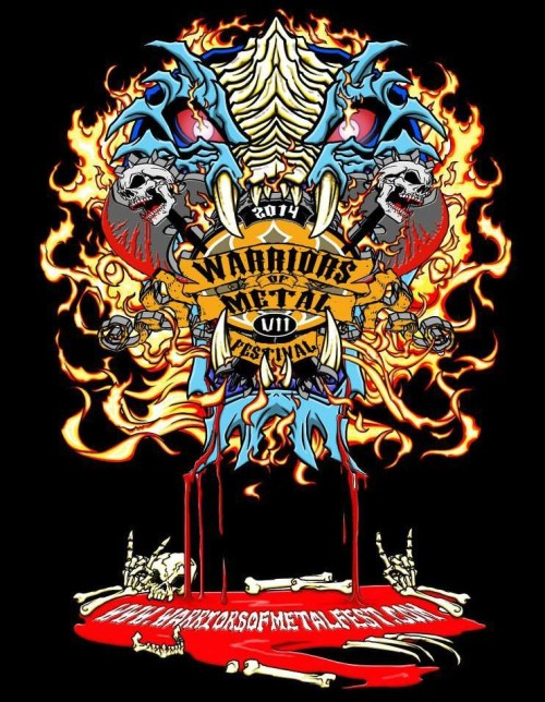 RESTLESS BREED Warriors Of Metal Fest VII‏