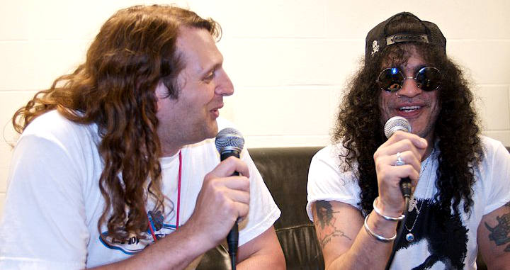 Steve Black with Slash