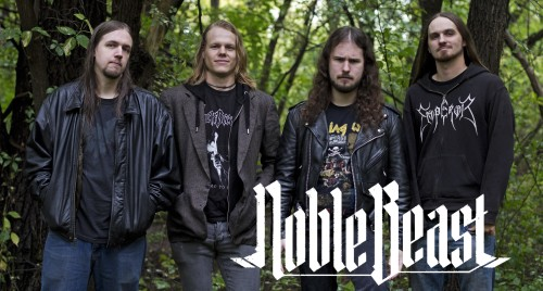 Noble Beast Band Photo with logo