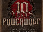 POWERWOLF 10th Anniversary