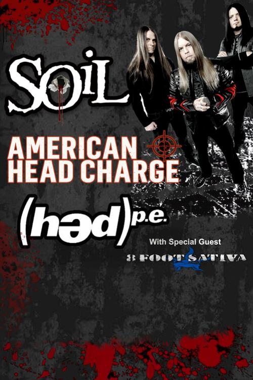 SOIL ANNOUNCE EUROPEAN TOUR