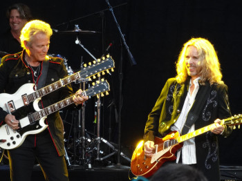 Don Felder with Tommy Shaw