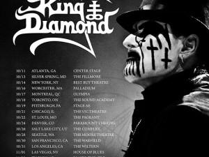 KING DIAMOND Announces North American Fall Tour