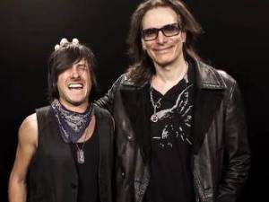 Andy Alt with Steve Vai