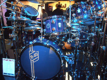 Neil Peart drum kit