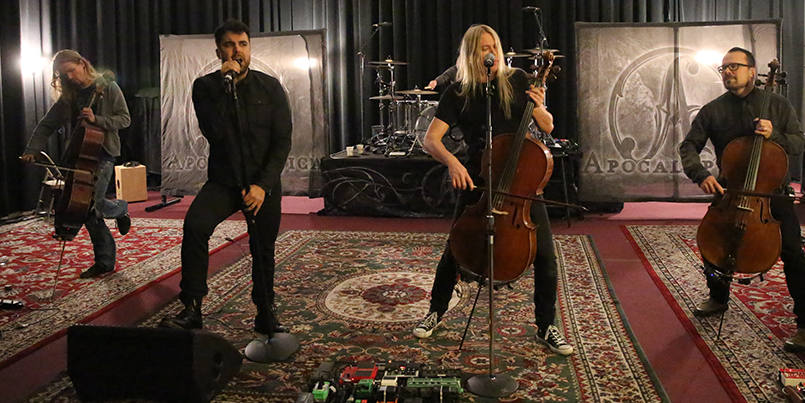 An Intimate Performance with Apocalyptica 2015 fi