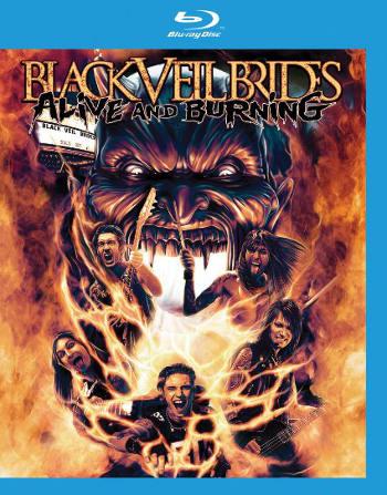 Black Veil Brides Alive and Burning 350