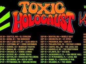 Toxic Holocaust tour banner