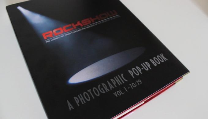 Kickstarter Campaign for ROCKSHOW Pop-Up book