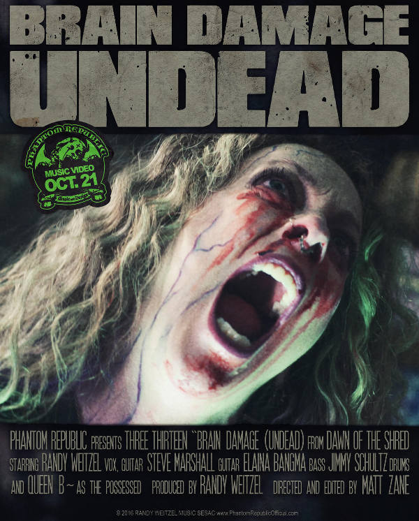 three_thirteen_-_brain_damage__undead__poster